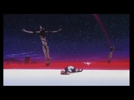 エヴァ旧劇場版のラストシーン アスカの首を絞めるシンジに言った言葉。気持ち悪い