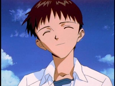 エヴァンゲリオンTVアニメ版 最終回、シンジの補完計画、おめでとうのシーン