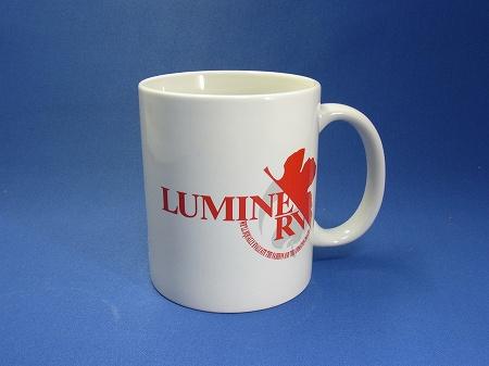 LUMINERVのマグカップ赤
