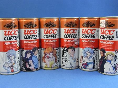 UCC エヴァ缶 新劇場版:序 公開記念バージョン 6缶セット