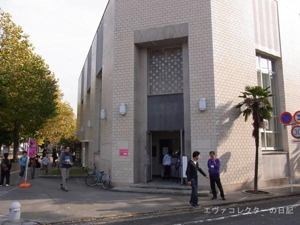 山口県宇部市で行われたエヴァ破の作品上映会場