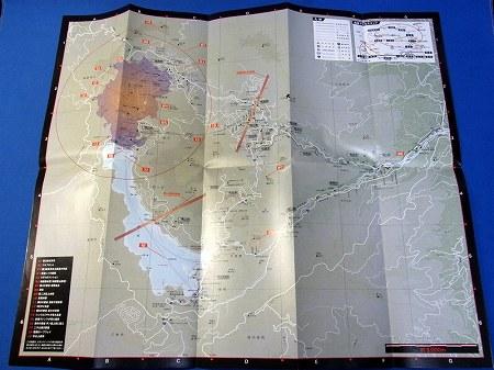 箱根周辺の地図