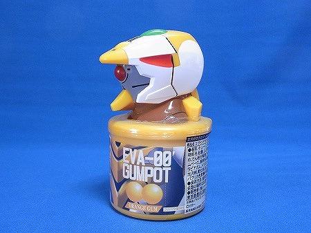 ローソン限定 エヴァ零号機のお菓子。ガムポット