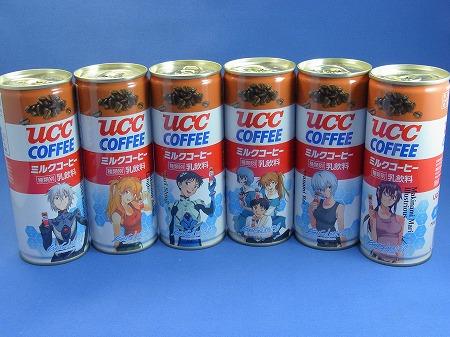 UCC エヴァ缶 新劇場版:Q 公開記念6缶セット