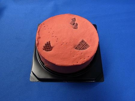 赤い大地のケーキ&アヤナミレイ(仮称)のケーキ本体は赤
