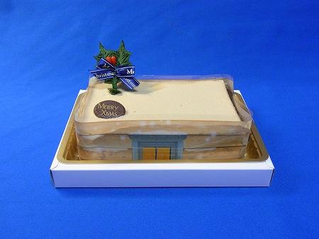エヴァンゲリオンクリスマスケーキ 舞い降りた天使たちのケーキ全景
