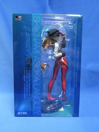アルター エヴァQに登場するネコミミアスカフィギュアの外箱