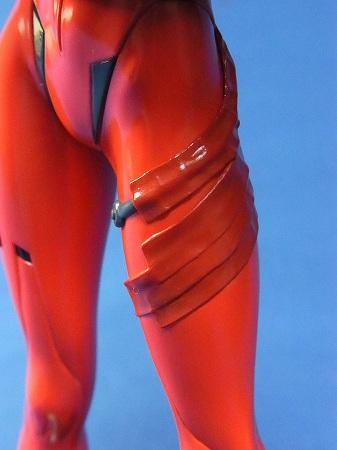 旧プラグスーツの補修部分