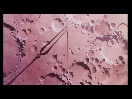 月面に突き刺さるロンギヌスの槍
