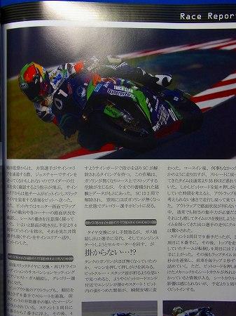詳細なレーシング模様のレポート