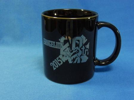 エヴァ20周年記念ロゴ入りマグカップ