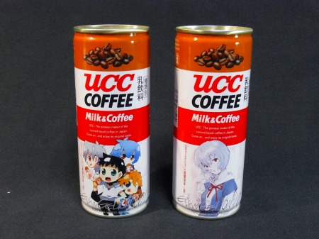 UCC エヴァ缶 序のDVD発売記念バージョン