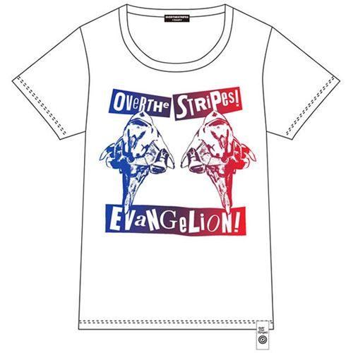 EVA×OVER THE STRiPES 初号機ツインヘッドTシャツ