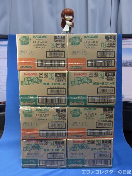 エヴァキャンペーン対象商品の箱買い