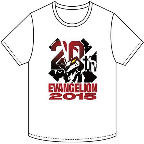 エヴァンゲリオン20周年記念ロゴTシャツ