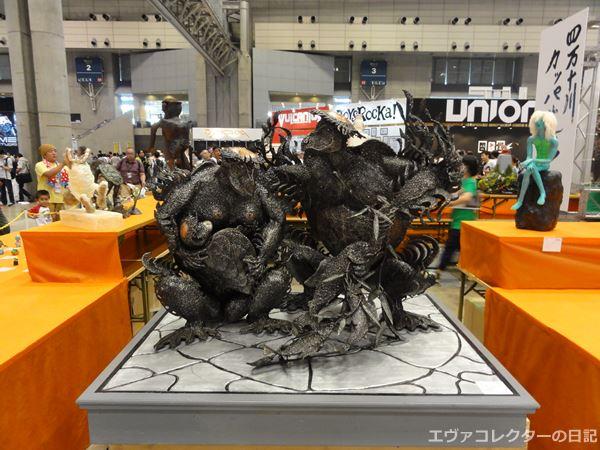 ワンフェスで展示されていたカッパコンテストの作品