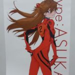 エヴァグッズ No.546「EVA style VISA CARD type:ASUKA」特典アスカポスター