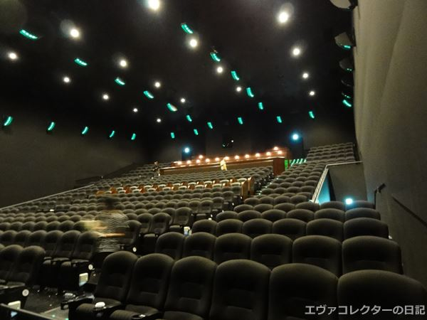 TOHOシネマズ新宿 スクリーン9の座席数は499