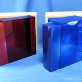 エヴァンゲリオンのBlu-rayBOXとDVDBOXのセット写真