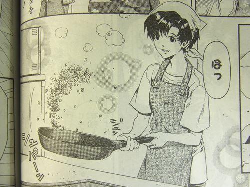 料理をする伊吹マヤ。天使すぎる