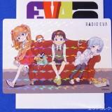 EVANGELION100.0 ノベルティカード シークレットのレイ・アスカ・シンジ