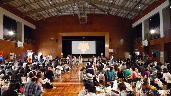 ヱヴァンゲリヲン新劇場版:破 EVANGELION:2.22 NOGUCHI verのイベント会場の様子