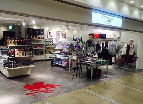 EVANGELION STORE HAKATA Sta. エヴァストア博多駅店