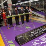 エヴァ新幹線「500 TYPE EVA」の運行が今日からスタート!博多-新大阪間をエヴァ初号機が疾走する