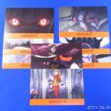 「ヱヴァ:破」動員200万人突破。「大入御礼」キャンペーンで配布されたポストカード。全9種