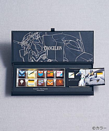 三越で発売されるエヴァチョコレート。トーキョーチョコレート
