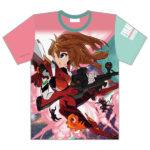 【新着エヴァグッズ】すしお氏描き下ろしのTシャツが予約受付開始。