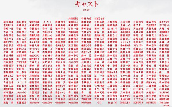 シン・ゴジラのスタッフ一覧。日本映画史上最大規模となる328人が参加