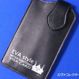 EVA style VISA CARD 入会特典のコラボグッズ スマートフォンケース