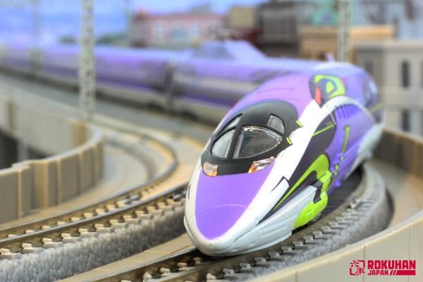 ロクハンの1/220 Zゲージ鉄道模型 エヴァ新幹線500typeeva