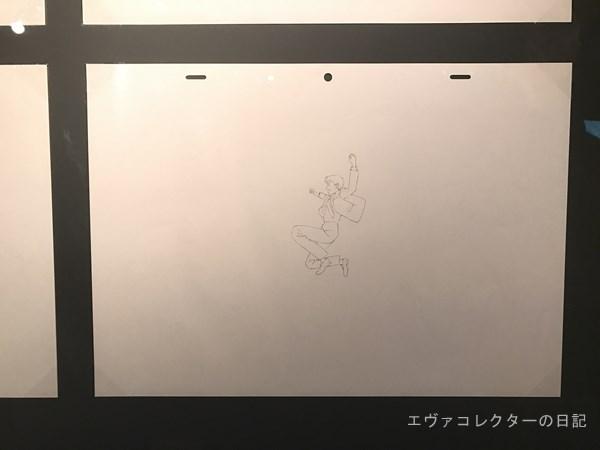 スタジオカラー10周年記念展で描かれたシンジのイラスト