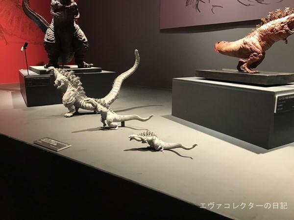 シン・ゴジラの各形態模型