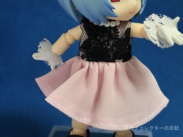 レイのドレス部分のアップ。着脱式