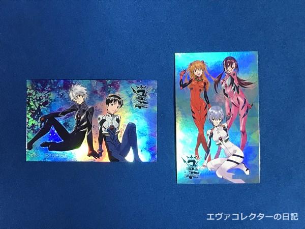 EVANGELION STORE TOKYO-01 7周年記念オリジナルステッカー 全4種