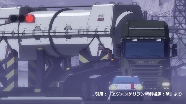 『ヱヴァンゲリヲン新劇場版:破』に登場するネルフ仕様のコスモスポーツ