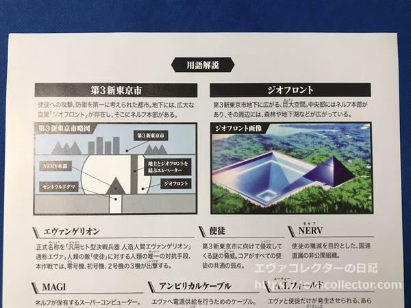 第三新東京市とジオフロントの図解