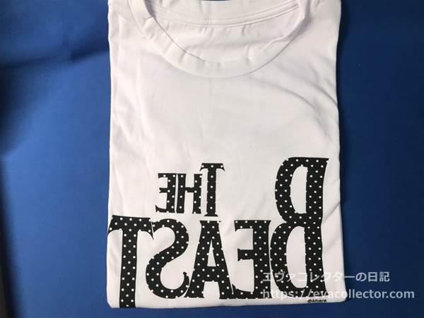 THE BEASTのTシャツ