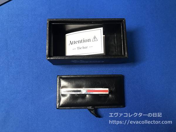 エヴァとはるやま「P.S.FA」のコラボ商品。アスカカラーのタイバー